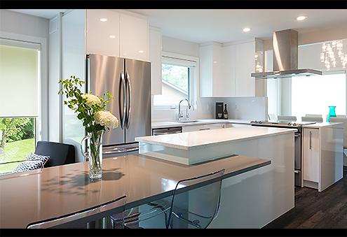 Sparkling Bright Kitchen Design